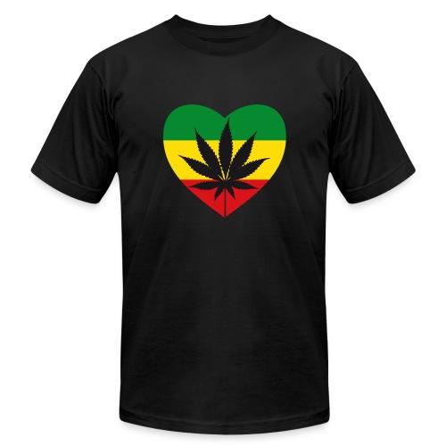 Green Love - Men's Fine Jersey T-Shirt