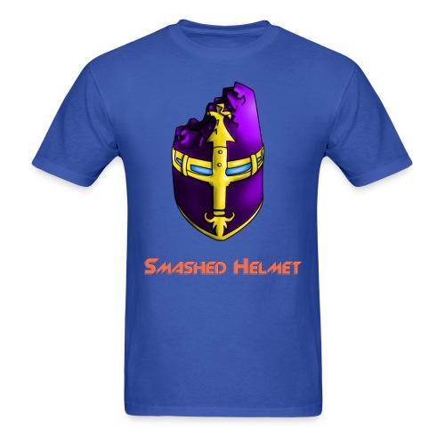 Smashed Helmet Standard Logo Tee (Men) - Men's T-Shirt