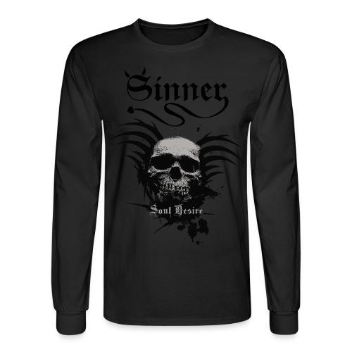 Men's Long Sleeve T-Shirt - V-Twin,Sinner Cycles,Motorcycle,Harley Davidson,Custom,Chopper