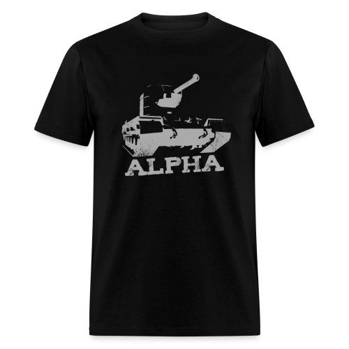 Alpha - Men's T-Shirt