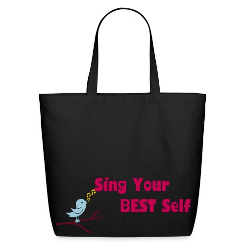 Best Self Bluebird Tote - Eco-Friendly Cotton Tote