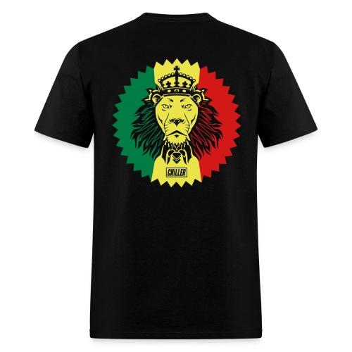 Rasta Lion/Star tee - Men's T-Shirt