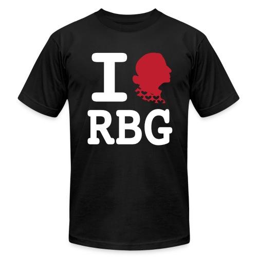 RBG Tee (American Apparel) - Men's Fine Jersey T-Shirt