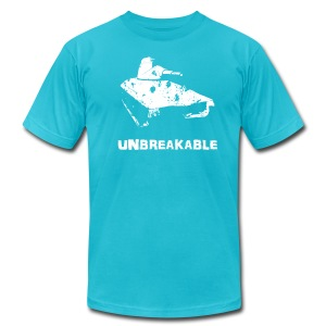 Unbreakable - Men's T-Shirt by American Apparel