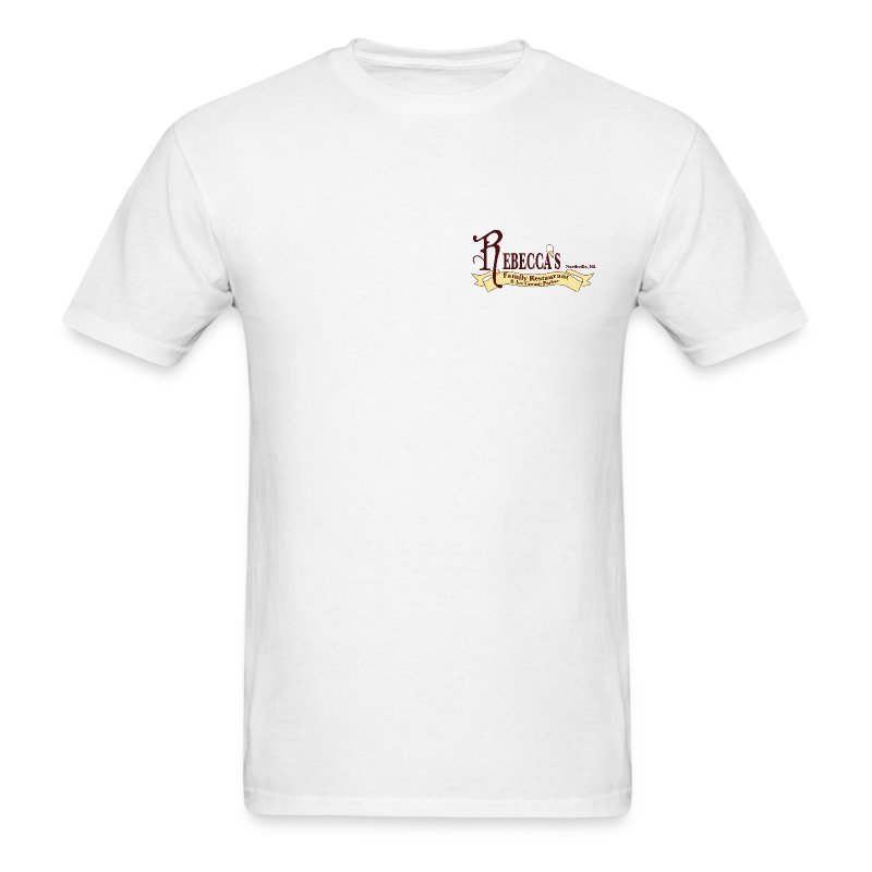 Small Logo Rebecca's - Men's T-Shirt