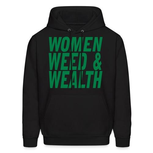 Women Weed Wealth - Men's Hoodie