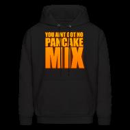 Hoodies ~ Men's Hoodie ~ Pancake Hoodie Black