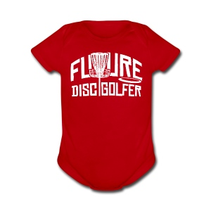 Future Disc Golfer Baby One Piece - Short Sleeve Baby Bodysuit