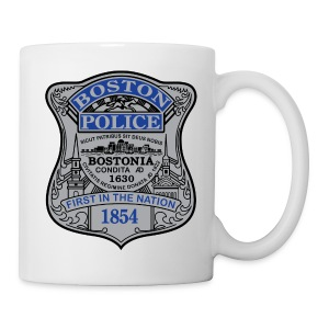 Boston Police Mug - Coffee/Tea Mug