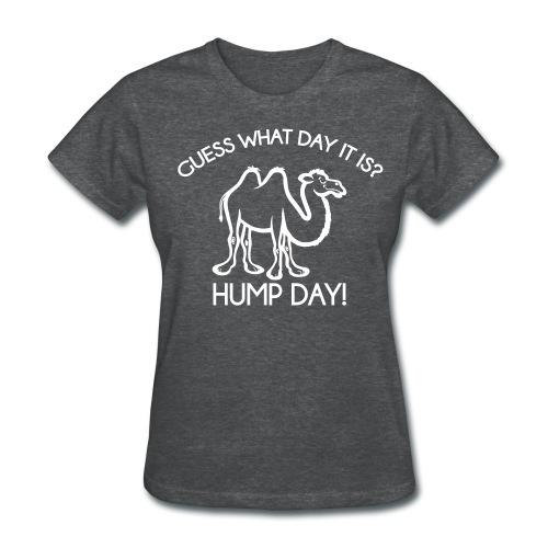 Hump Day - Ladies - Women's T-Shirt