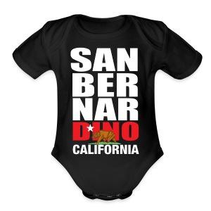 San Bernardino california - Short Sleeve Baby Bodysuit