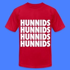 Hunnids T-Shirts - Men's T-Shirt by American Apparel