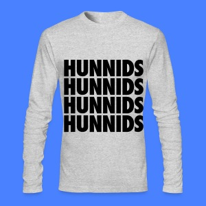Hunnids Long Sleeve Shirts - Men's Long Sleeve T-Shirt by Next Level