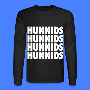 Hunnids Long Sleeve Shirts - Men's Long Sleeve T-Shirt