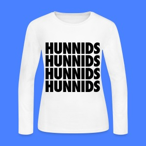 Hunnids Long Sleeve Shirts - Women's Long Sleeve Jersey T-Shirt