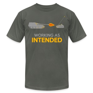 Working as Intended - Men's T-Shirt by American Apparel