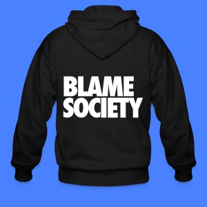 Blame Society Zip Hoodies & Jackets - Men's Zip Hoodie