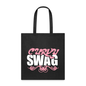Curvy Girl Swag Tote Bag (Version 2 - 2 Color) - Tote Bag