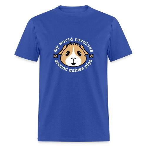 'My World Revolves...' Men's T-Shirt - Men's T-Shirt