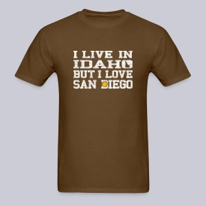 Live Idaho Love San Diego - Men's T-Shirt