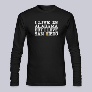 Live Alabama Love San Diego - Men's Long Sleeve T-Shirt by Next Level