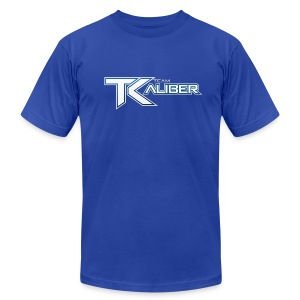 tK Team Icon Logo AMERICAN APPAREL - Men's T-Shirt by American Apparel