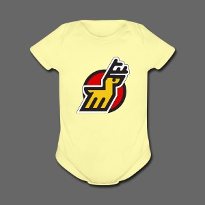 Michigan Stags - Short Sleeve Baby Bodysuit