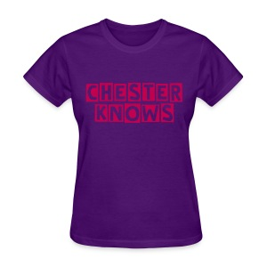 Chester Knows Tee - Women's T-Shirt