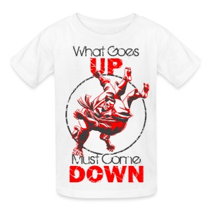 Judo What Comes Up - Kids' T-Shirt