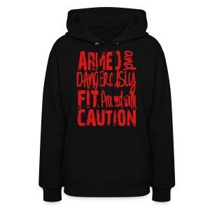 Caution SweatShirt - Women's Hoodie