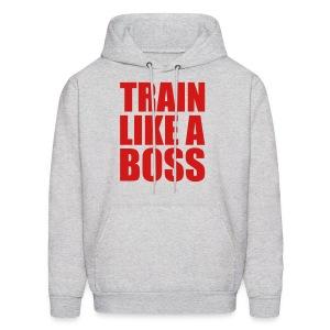 Train Like A boss - Men's Hoodie