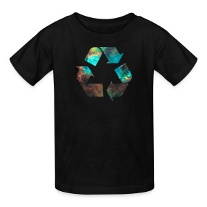 Recycle Stardust Nebula - Kids' T-Shirt