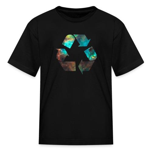 Recycle Stardust Nebula - Kids' T-Shirt