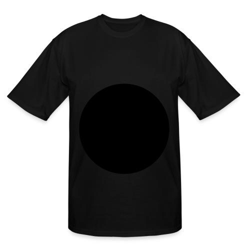 Circle White Tall Tshirt FRONT - Men's Tall T-Shirt