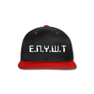 Data snap back (Red) - Snap-back Baseball Cap