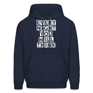 The movement hoodie (Blue) - Men's Hoodie