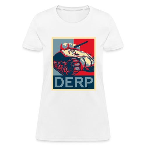 Derp (Women) - Women's T-Shirt