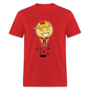 [Running Man!] Avengers: Iron Haha Fly! - Men's T-Shirt