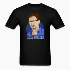 team edward, edward snowden T-Shirts