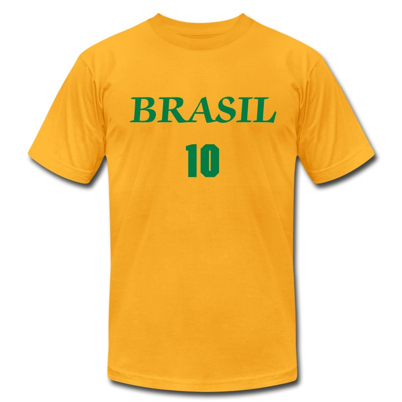 #10 NEYMAR - Men's T-Shirt by American Apparel