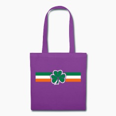 clover flag Bags & backpacks