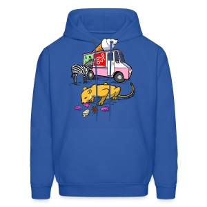 Men's Hoodie - webcomic,loadingartist,loading,gregor,food,czaykowski,comic,chain,artist