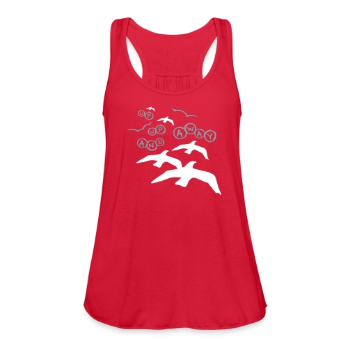Up, Up and Away Flowy Tank - Women's Flowy Tank Top by Bella