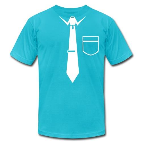 Formell t-skirt - Men's Fine Jersey T-Shirt