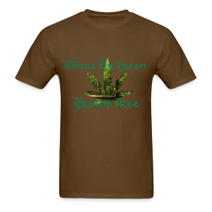 where the green grows free - Men's T-Shirt