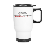 Mugs & Drinkware ~ Travel Mug ~ All Bleeding Stops - Travel Mug