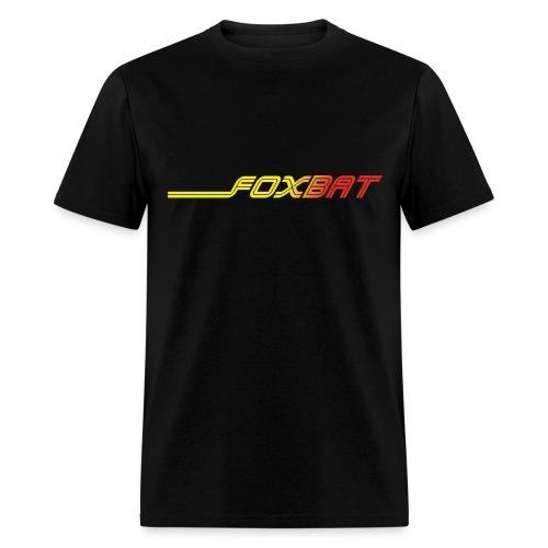 Foxbat - Black - Men's T-Shirt