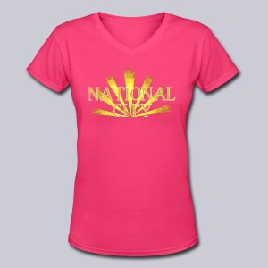 National City - Women's V-Neck T-Shirt