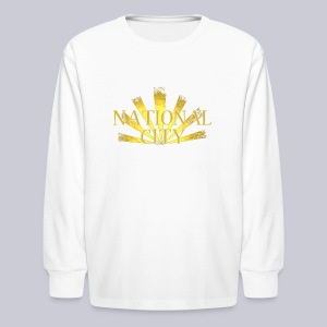 National City - Kids' Long Sleeve T-Shirt