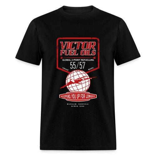 Victor Fuel Oils - Black - Men's T-Shirt